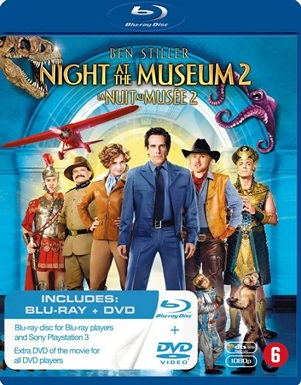 MOVIE - NIGHT AT THE MUSEUM 2 (W/ BEN STILLER, ROBIN WILLIAMS ...) BLU-RAY+DVD (BILINGUAL)