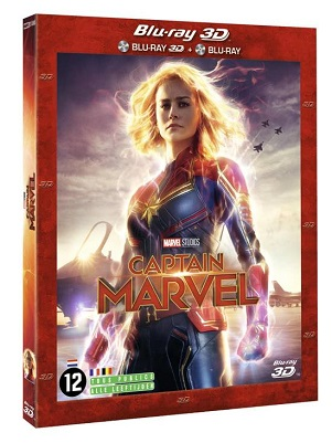 MOVIE - CAPTAIN MARVEL -3D-
