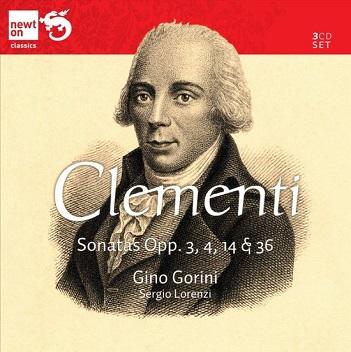CLEMENTI, M. - SONATAS OPP.3,4,14,14 & 3