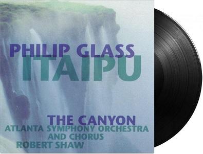 GLASS, PHILIP - ITAIPU/CANYON -HQ/INSERT-