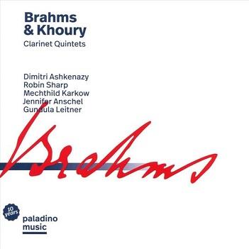 ASHKENAZY, DIMITRI - BRAHMS & KHOURY:..