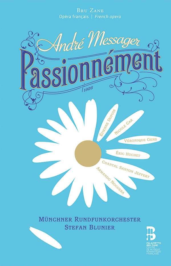 MESSAGER, A. - PASSIONNEMENT -CD+BOOK-
