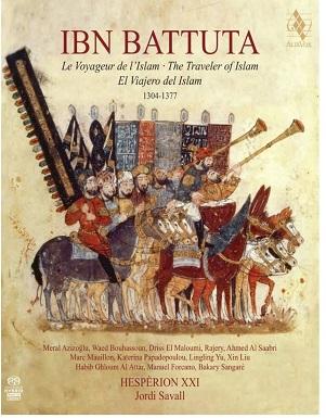 HESPERION XXI - IBN BATTUTA -.. -CD+BOOK-