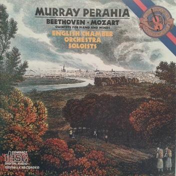 BEETHOVEN / W.A. MOZART - QUINTETS FOR PIANO AND WINDS: QUINTET Op. 16 / QUINTET K 452