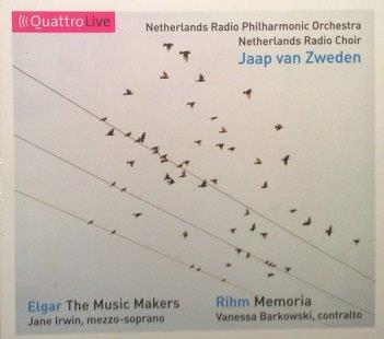 ELGAR, EDWARD / RIHM, WOLFGANG - THE MUSIC MAKERS Op. 69 (1912) / MEMORIA - Drei Requiem-Bruchstucke (1994/2004)
